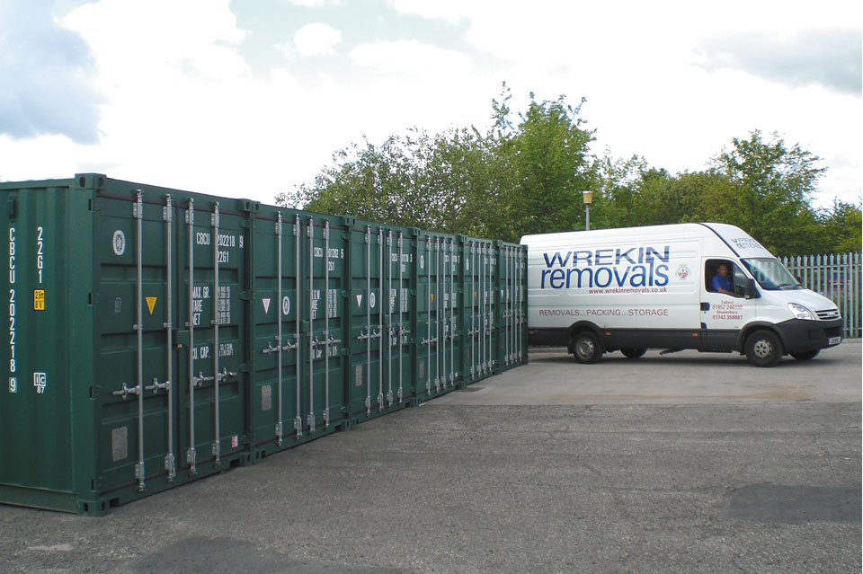 New Self Storage Facility in Telford Now Open. & Home | Wrekin Removals